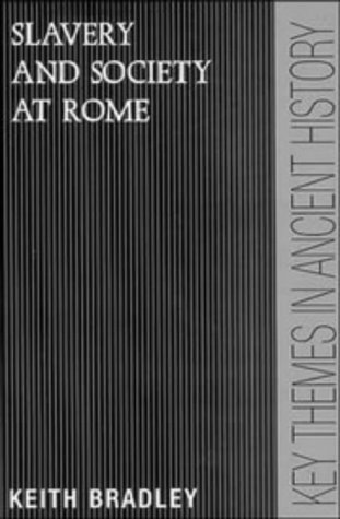 Slavery and Society at Rome   1994 edition cover