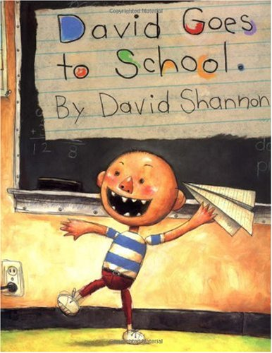 David Goes to School   2003 edition cover