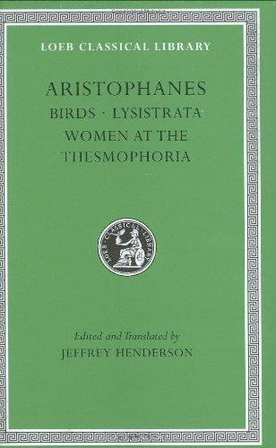 Aristophanes Birds - Lysistrata Women at the Thesmophoria  2000 edition cover