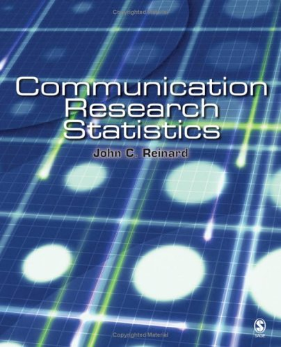 Communication Research Statistics   2006 edition cover