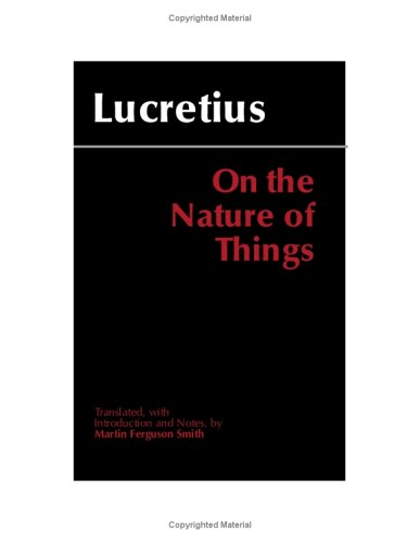 On the Nature of Things  2nd 2001 (Revised) edition cover