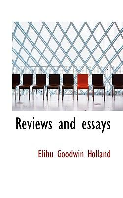 Reviews and Essays  N/A 9781116805871 Front Cover