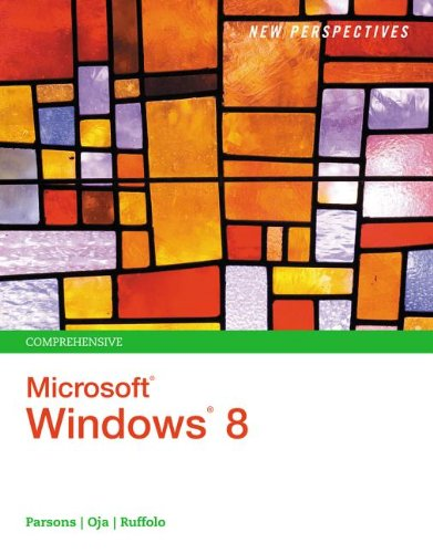 New Perspectives on Microsoft� Windows 8, Comprehensive   2014 edition cover