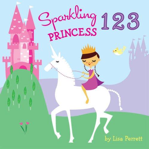 Sparkling Princess 123   2013 9781402788871 Front Cover