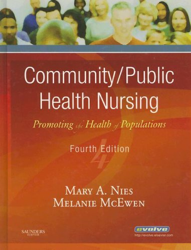 Community/Public Health Nursing Promoting the Health of Populations 4th 2006 (Revised) edition cover