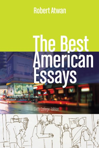 Best American Essays  6th 2011 edition cover