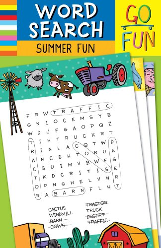 Go Fun! Word Search Summer Fun  2011 edition cover