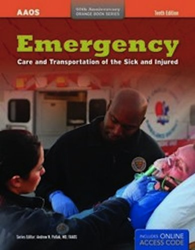 Emergency Care and Transportation of the Sick and Injured 10th 2011 edition cover