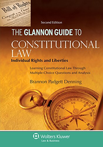 Glannon Guide Constitutional Law Individ Rights and Liberties 2nd 2015 (Student Manual, Study Guide, etc.) edition cover