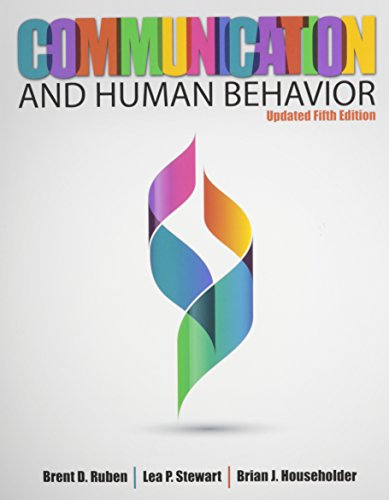 Communication and Human Behavior:   2014 edition cover