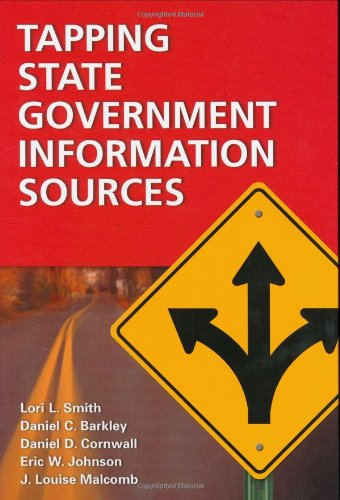 Tapping State Government Information Sources   2003 9781573563871 Front Cover