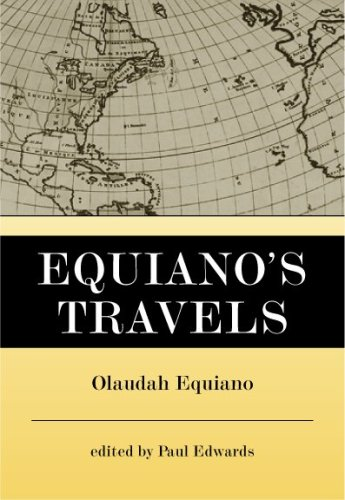 Equiano's Travels   1967 edition cover