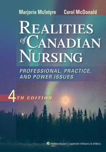 Realities of Canadian Nursing  4th 2014 (Revised) edition cover