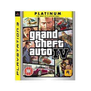Grand Theft Auto IV - Platinum Edition (PS3) PlayStation 3 artwork