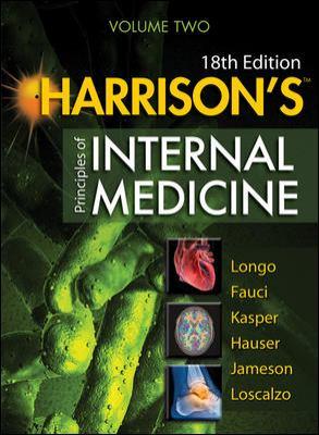 Harrison's Principles of Internal Medicine  18th 2011 edition cover