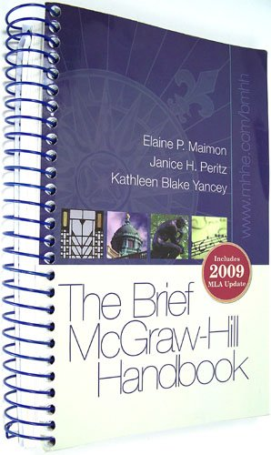 The Brief McGraw-Hill Handbook:  2011 edition cover
