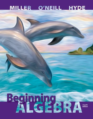 Student Solutions Manual for Beginning Algebra  4th 2014 9780077548872 Front Cover