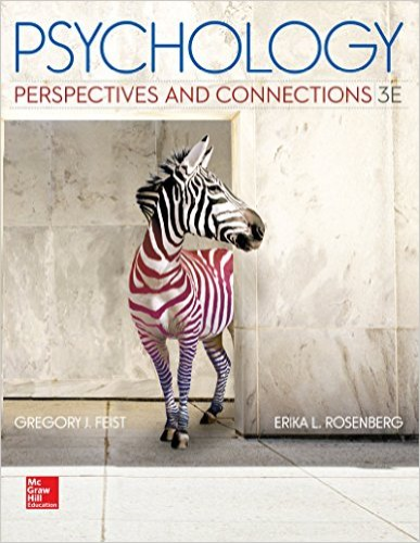 Psychology Perspectives and Connections 3rd 2015 edition cover