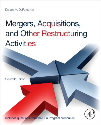 Mergers, Acquisitions, and Other Restructuring Activities  7th 2013 edition cover