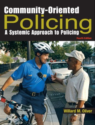 Community-Oriented Policing A Systemic Approach to Policing 4th 2008 edition cover
