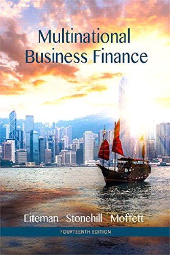 Multinational Business Finance:   2015 edition cover