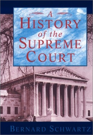History of the Supreme Court   1995 (Reprint) edition cover