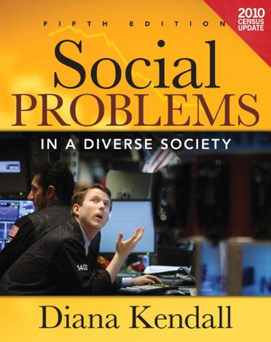 Social Problems in a Diverse Society Census Update  5th 2012 (Revised) edition cover