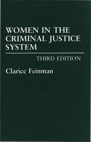 Women in the Criminal Justice System  3rd 1994 edition cover