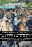 Norton Recorded Anthology of Western Music:   2014 edition cover