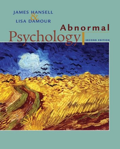 Abnormal Psychology  2nd 2008 edition cover