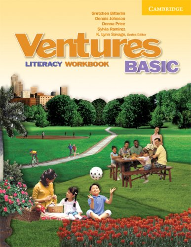 Ventures Basic Literacy Workbook   2008 9780521719872 Front Cover