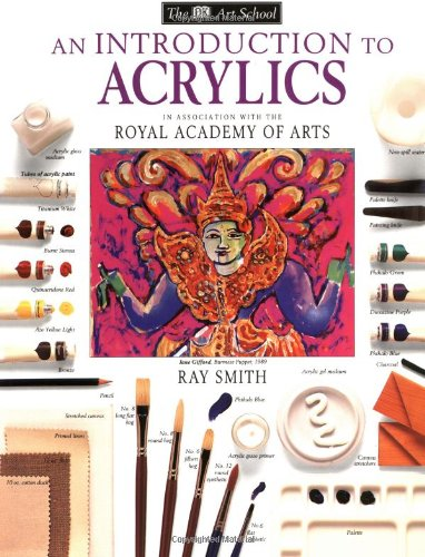 Introduction to Acrylics   1998 edition cover