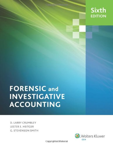 Forensic and Investigative Accounting  6th edition cover