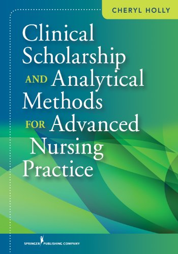 Clinical Scholarship and Analytical Methods for Advanced Nursing Practice   2013 edition cover