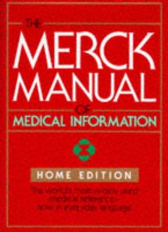 Merck Manual of Medical Information   1997 edition cover