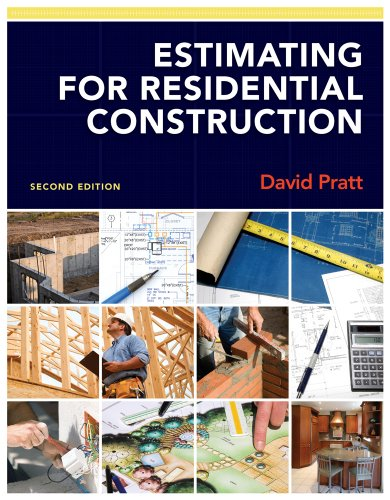 Estimating for Residential Construction  2nd 2012 edition cover