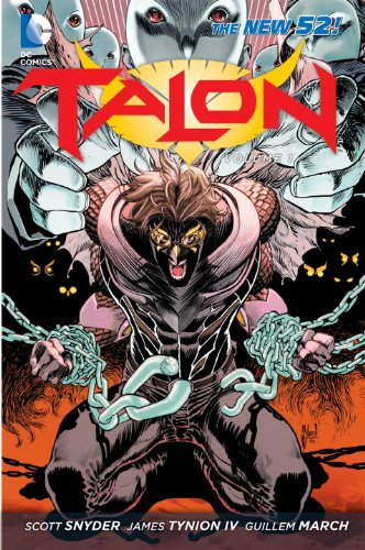 Talon Scourge of the Owls  2013 9781401238872 Front Cover
