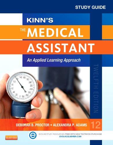 KINN'S MEDICAL ASSISTANT-STUDY N/A edition cover