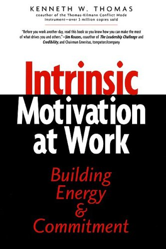 Intrinsic Motivation at Work Building Energy and Commitment 2nd 2000 9781576750872 Front Cover