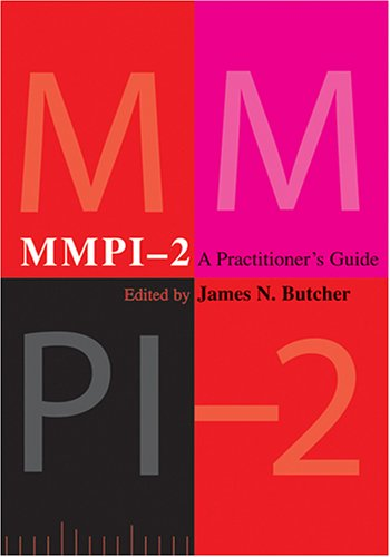 Mmpi-2 A Practitioner's Guide  2006 edition cover