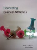 Discovering Business Statistics Textbook  N/A edition cover