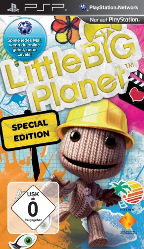 Little Big Planet - Special Edition Sony PSP artwork