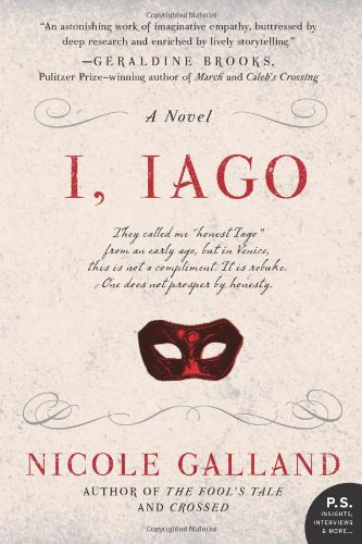 I, Iago A Novel  2012 9780062026873 Front Cover