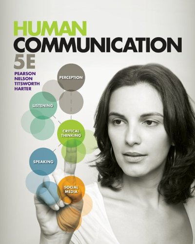 Human Communication  5th 2013 9780078036873 Front Cover