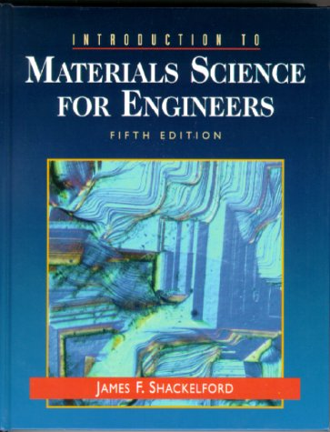 Introduction to Materials Science for Engineers  5th 2000 edition cover