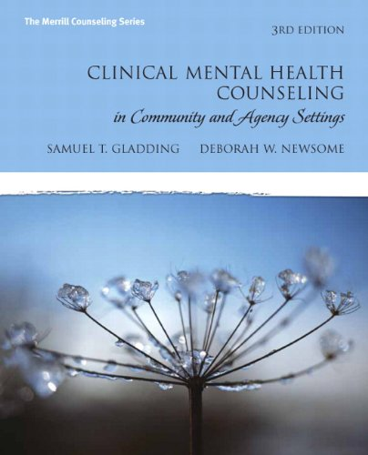 Clinical Mental Health Counseling in Community and Agency Settings  3rd 2010 edition cover