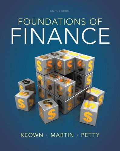 Foundations of Finance  8th 2014 edition cover