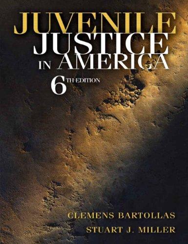 Juvenile Justice in America  6th 2011 edition cover