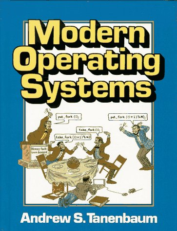 Modern Operating Systems  1st 1992 edition cover
