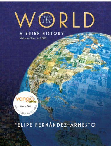 World A Brief History - To 1500  2008 9780136008873 Front Cover